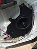 "Aftermarket speaker and speaker adapter  from  <a href=""http://www.car-speaker-adapters.com/items.php?id=SAK097""> Car-Speaker-Adapters.com</a>   installed on door"