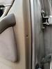 Door fasteners removed