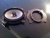 "OEM speaker compared to speaker ring from   <a href=""http://www.car-speaker-adapters.com/items.php?id=SAK010""> Car-Speaker-Adapters.com</a>"