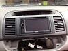 Front dash, head unit and vent panel installed