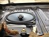 """Right side rear speaker and speaker bracket     from  <a href=""""http://www.car-speaker-adapters.com/items.php?id=SAK008""""> Car-Speaker-Adapters.com</a>     installed"""