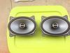 """Alpine 2 way speakers for rear, speaker brackets     from  <a href=""""http://www.car-speaker-adapters.com/items.php?id=SAK008""""> Car-Speaker-Adapters.com</a>      installed"""