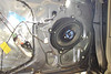"Aftermarket speaker and speaker adaptor bracket   from  <a href=""http://www.car-speaker-adapters.com/items.php?id=SAK010""> Car-Speaker-Adapters.com</a>   installed in door"