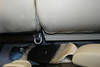 Rear seat bolt to be removed