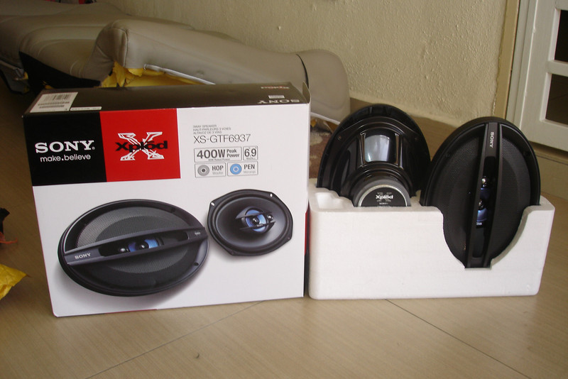 New aftermarket speakers