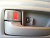 Screw trim cap hinged open