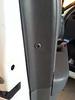 Door panel retainer clip unlocked