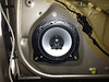 """Aftermarket speaker and speaker adapter plate  from  <a href=""""http://www.car-speaker-adapters.com/items.php?id=SAK019""""> Car-Speaker-Adapters.com</a>   installed"""