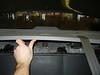 Removing rear deck trim panel