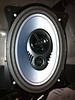 "JL Audio 6x9"" speaker mounted in speaker adapter (view 3)."