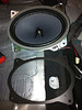 """OEM factory speaker compared to speaker adapter from  <a href=""""http://www.car-speaker-adapters.com"""">http://www.car-speaker-adapters.com</a>"""