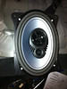 "JL Audio 6x9"" speaker mounted in speaker adapter (view 2)."