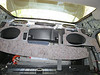 "Fold the sound deadening material away from the speakers. At this point it is obvious how to proceed with the speaker replacement, using the speaker adapters   from  <a href=""http://www.car-speaker-adapters.com/items.php?id=SAK008""> Car-Speaker-Adapters.com</a>"