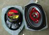 """Aftermarket speakers mounted to speaker adaptor plates  from  <a href=""""http://www.car-speaker-adapters.com/items.php?id=SAK007""""> Car-Speaker-Adapters.com</a>   .  Foam sealer applied."""