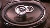 """Aftermarket speaker mounted to speaker adaptor bracket  from  <a href=""""http://www.car-speaker-adapters.com/items.php?id=SAK010""""> Car-Speaker-Adapters.com</a>"""