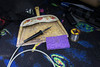 Soldering iron and solder