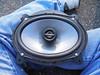 "Aftermarket speaker mounted to speaker adapter   from  <a href=""http://www.car-speaker-adapters.com/items.php?id=SAK010""> Car-Speaker-Adapters.com</a>"