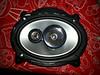 "Aftermarket speaker installed in speaker adapter from   <a href=""http://www.car-speaker-adapters.com/items.php?id=SAK010""> Car-Speaker-Adapters.com</a>"
