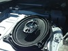 "Aftermarket speaker and speaker adapter from <a href=""http://car-speaker-adapters.com/items.php?id=SAK054""> Car-Speaker-Adapters.com</a>  installed in rear deck"