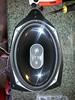 "Aftermarket speaker mounted to speaker adapter   from  <a href=""http://www.car-speaker-adapters.com/items.php?id=SAK007""> Car-Speaker-Adapters.com</a>"