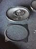 "Top: Aftermarket speaker <br> Bottom: Speaker adapter  from  <a href=""http://www.car-speaker-adapters.com/items.php?id=SAK008""> Car-Speaker-Adapters.com</a>"
