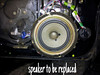 Speaker to be replaced
