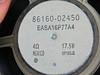 Factory speaker (rear view)