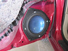 2006 Toyota Corolla LE Front Speaker Installation - USA : Alpine SPR-175A speakers installed