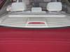 Rear deck shown through rear window