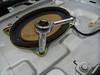 Removing factory speaker bolt