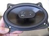 "Aftermarket speaker secured to speaker adapter  from  <a href=""http://www.car-speaker-adapters.com/items.php?id=SAK008""> Car-Speaker-Adapters.com</a>"