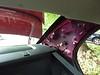 Rear left side panel removed
