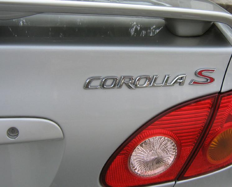 Toyota Corolla Type S