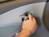 Removing door handle bezel