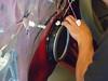 Removing factory speaker