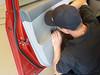 removing door pull trim