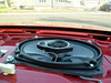 """Aftermarket speaker and speaker adapter  from <a href=""""http://www.car-speaker-adapters.com/items.php?id=SAK008""""> Car-Speaker-Adapters.com</a>   installed"""