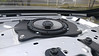 """Aftermarket speaker and speaker adapter bracket from   from <a href=""""http://www.car-speaker-adapters.com/items.php?id=SAK008""""> Car-Speaker-Adapters.com</a>   mounted to vehicle"""
