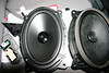 "Comparison: <br> Left: Aftermarket speaker and speaker adapter brackets   from  <a href=""http://www.car-speaker-adapters.com/items.php?id=SAK037""> Car-Speaker-Adapters.com</a>   <br> Right: Factory speaker"