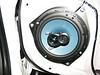 6.Secure speaker to door using supplied hardware
