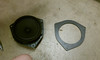 """OEM speaker compared to speaker adapter ring from   <a href=""""http://www.car-speaker-adapters.com/items.php?id=SAK036""""> Car-Speaker-Adapters.com</a>"""