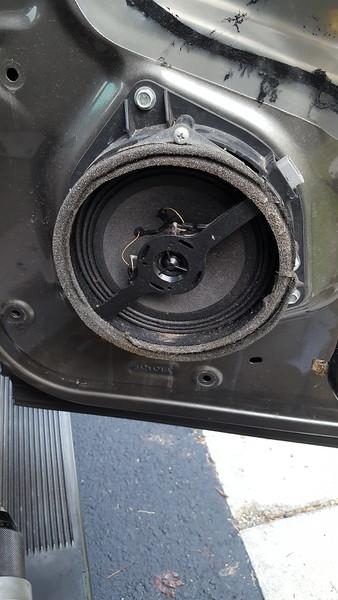 Factory speaker and bracket