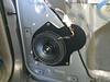 "Aftermarket speaker and   speaker adapter bracket from  <a href=""http://www.car-speaker-adapters.com/items.php?id=SAK098""> Car-Speaker-Adapters.com</a>   installed"