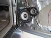 Passenger speaker installed
