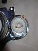 "Factory mid range bracket screwed into speaker adapters   from  <a href=""http://www.car-speaker-adapters.com/items.php?id=SAK098""> Car-Speaker-Adapters.com</a>"