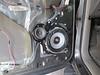 Driver door installed