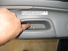 Step 3: find screw #2 in the door pull handle.  This one may need a little cleaning to get out.