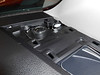 """Aftermarket tweeter and speaker adapter bracket   from  <a href=""""http://www.car-speaker-adapters.com/items.php?id=SAK009""""> Car-Speaker-Adapters.com</a>   reinstalled beneath dash mounting surface to avoid interference with grill"""