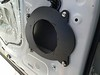 "Speaker adapter  from  <a href=""http://car-speaker-adapters.com/items.php?id=SAK010""> Car-Speaker-Adapters.com</a>   mounted to door"