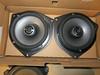 "Aftermarket speakers mounted to speaker adapter brackets    from  <a href=""http://www.car-speaker-adapters.com/items.php?id=SAK036""> Car-Speaker-Adapters.com</a>"
